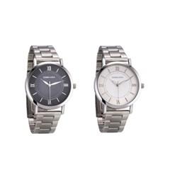 남자 메탈 손목시계 다이야켓팅 2중문자판 국산 패션 시계 DS042