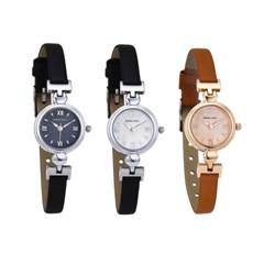 가죽 게르마늄 여성손목시계 패션 시계 쥬얼리 DS042