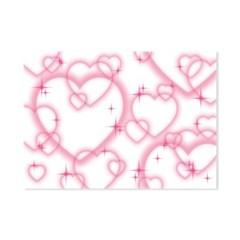 [네버더레스] pink heart paper
