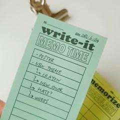 WRITE-IT / VOCAB 떡메