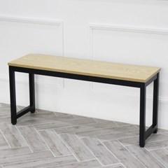 더조아 모던 벤치의자 테이블 2인용 식탁의자 철제 진열대 선반