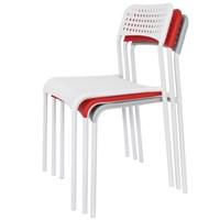 더조아 에이디체어 플라스틱의자 디자인체어 학원의자 강의실의자