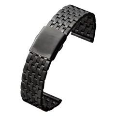 피닉스 시계줄 G561 날개형 메탈밴드(블랙22mm)