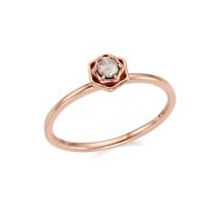 14K 꽃잎 러프 다이아몬드 반지 (FR0492GB)