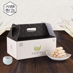 군산 서해한과 흰찰쌀보리한과 800g (6팩) 선물세트