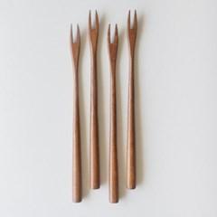 롬우드 로즈원목 나무 롱티포크_(1928419)