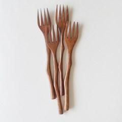 롬우드 로즈원목 나뭇가지 포크_(1928416)