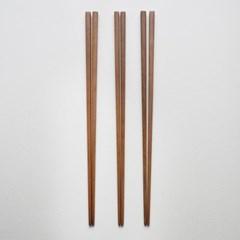 롬우드 로즈원목 나무 튀김젓가락_(1928991)