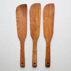 롬우드 로즈원목 나무 긴사각 볶음주걱_(1928971)