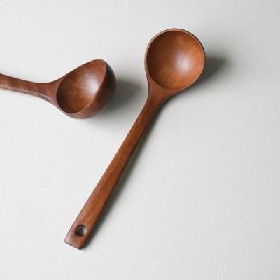 롬우드 로즈원목 나무 국자 소_(1928805)