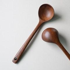 롬우드 로즈원목 나무 국자 대_(1928804)