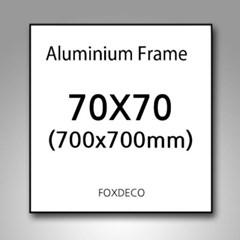 70x70cm 무광 알루미늄 액자 ( 8종류 색상 )