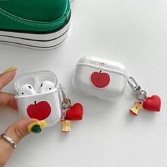 에어팟케이스 애플 투명 tpu 사과 ap-0123_(3461645)