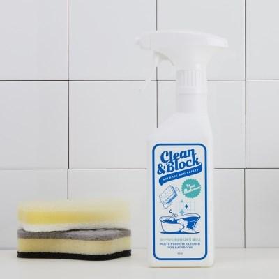 [클린앤블락] 안심성분 다목적클리너 욕실용(찌든때) 400ml