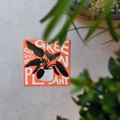 [postcard] Green Plant 그린 플랜트 식물 엽서