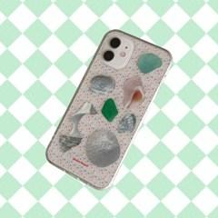 [뮤즈무드] sand seashell (clear) 아이폰케이스