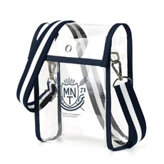 Scholar Cross PVC Bag(NAVY)