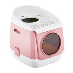 톰캣 프리캐빈 고양이 화장실(핑크)