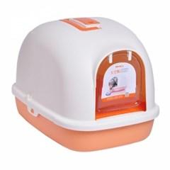 톰캣 후드형 점보 화장실(오렌지)