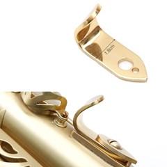 오른손 엄지걸이 스틸 색소폰용품 관악기_(1974438)