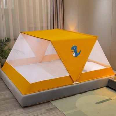 원터치 접이식 폴딩모기장 침대모기장 프리미엄