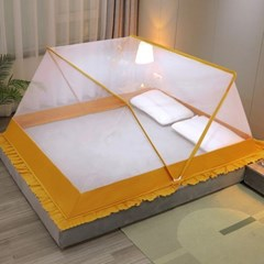 원터치 접이식 폴딩모기장 침대모기장 고급형