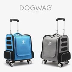 도그웨그 사륜 캐리어 강아지 산책 이동 가방 캐리어