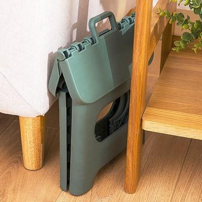 비비드 휴대용 간이 캠핑 미니 접이식 스툴 의자 (대)