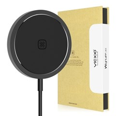 15W 아이폰 맥세이프 고속 무선 충전기 W3 블랙