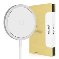 15W 아이폰 맥세이프 고속 무선 충전기 W3 실버