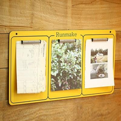런메이크 스타일리쉬 메모보드 54종-클립 알림판 게시판