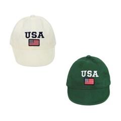 [마미버드] USA 얌체캡 (2color)