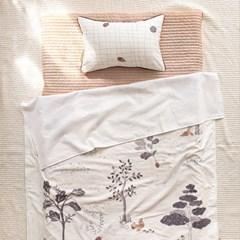 자장자장 낮잠이불 여름용 블랭킷 단품 숲속의 다람쥐_(607726)