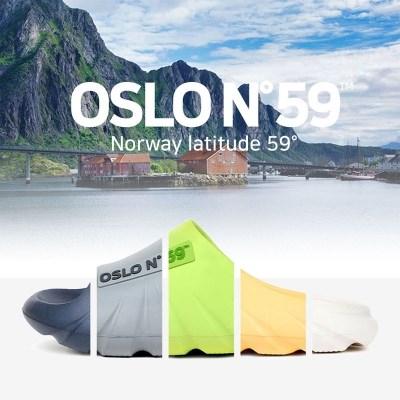 [OSLO N59] 오슬로 남녀공용 리커버리 슬라이드 슬리퍼 5컬러