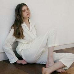 (w)Aurora Lemon Creme Pajama Set