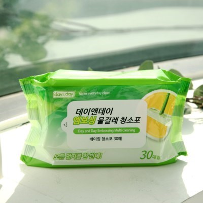 VNB 일회용 물걸레 청소포 3팩 (90매)