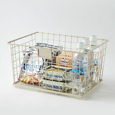 [한샘] 주방정리용품 SOK 마일드 오픈 바스켓 크림