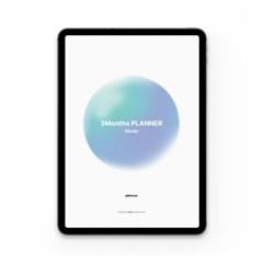 플랜커스 3months 디지털 스터디 플래너
