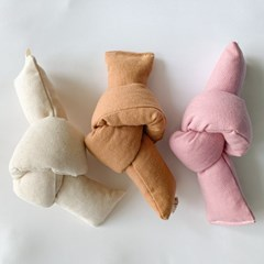 개달당 천연 캔버스 매듭 노즈워크 강아지장난감