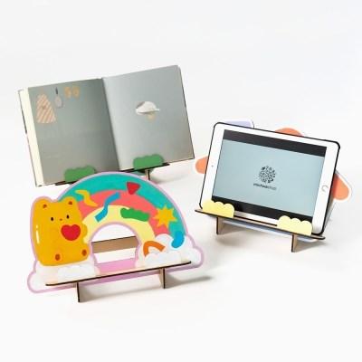 책받침대 유아 독서대 만들기 태블릿 거치대