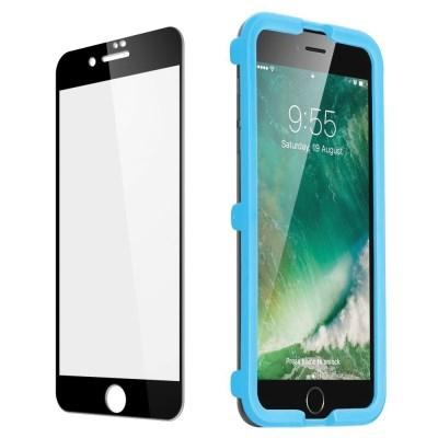 ESR 아이폰 SE 2세대 5X 풀커버 강화유리 1팩 (가이드 포함)