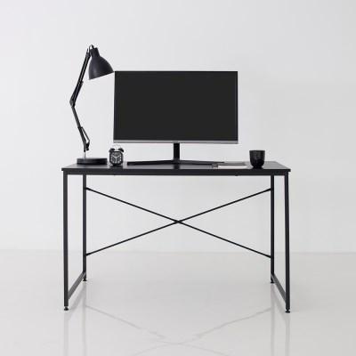 모노 1200 블랙 책상 학생 데스크 1인용 컴퓨터