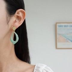 호마이카 물방울 드롭 패션 E1142 귀걸이