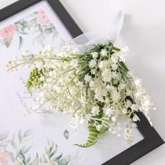 은방울부케 24cmP 조화 웨딩 결혼 축하 기념일 FMBBFT