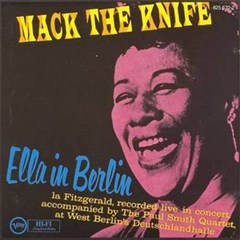 Ella Fitzgerald MACK THE KNIFE: ELLA