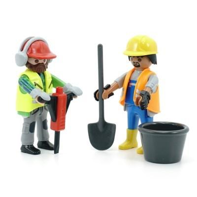 플레이모빌 듀오팩-건설 작업자(70272)