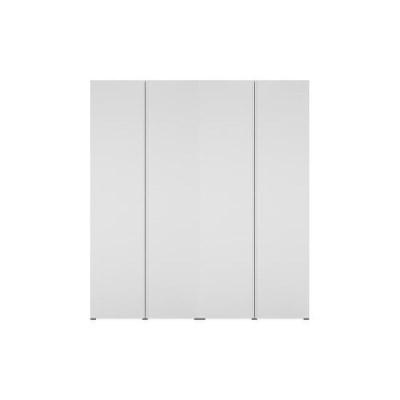 한샘 바이엘 채널 옷장세트 화이트 200cm(높이216cm) 수납형