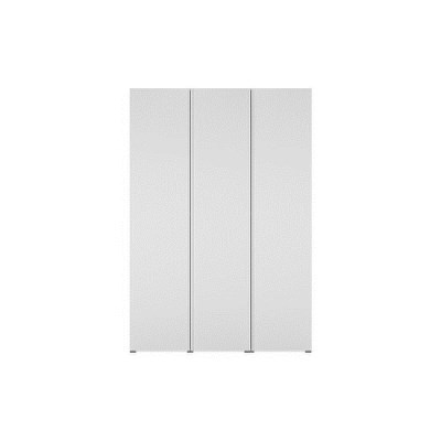 한샘 바이엘 채널 옷장세트 화이트 150cm(높이216cm) 선반형