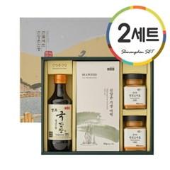 [신앙촌] 양조간장 선물세트 A 2호 2세트