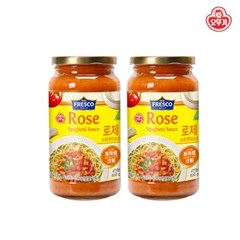 [오뚜기] 프레스코 로제 스파게티 소스 (600g) x 2
